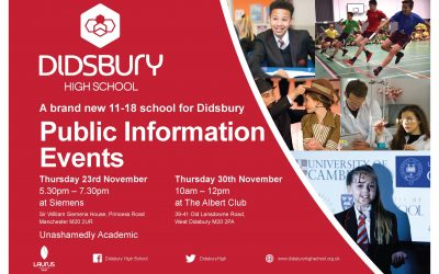Public information events in November