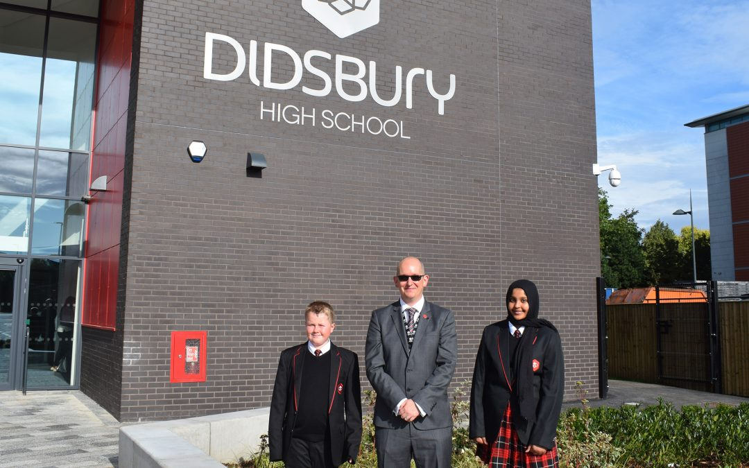 Didsbury High School opens the doors to its very first students